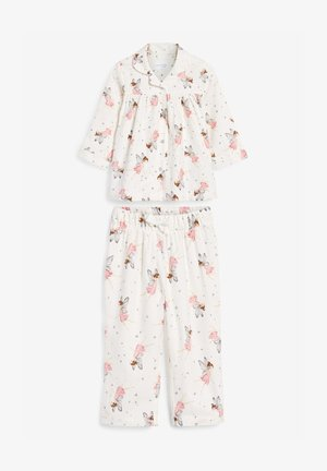 FAIRY BUTTON THROUGH - Pyjama set - white