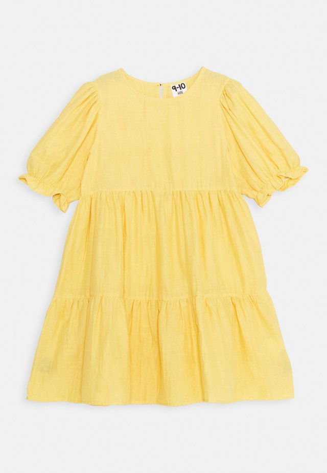 JOY SHORT SLEEVE DRESS - Denní šaty - honey gold