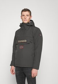 Napapijri - RAINFOREST WINTER - Giacca da mezza stagione - dark grey solid - 0