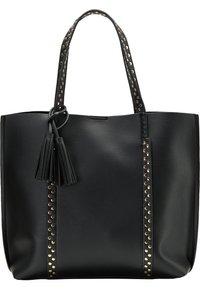 usha - SHOPPER - Tote bag - black - 0