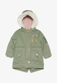 mothercare - BABY PADDED WITH TRIMS - Winter coat - khaki - 2