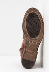 Anna Field - LEATHER WINTER BOOTIES - Zimní obuv - cognac - 6