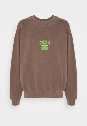 COLORADO SPRINGS CREWNECK - Sweater - brown