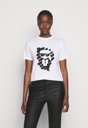 IKONIK GRAFFITI  - Print T-shirt - white