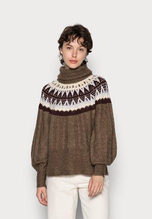 YASELSIE - Jumper - dark brown