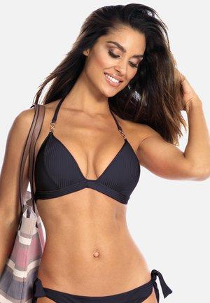 Góra od bikini - prążek  czarny