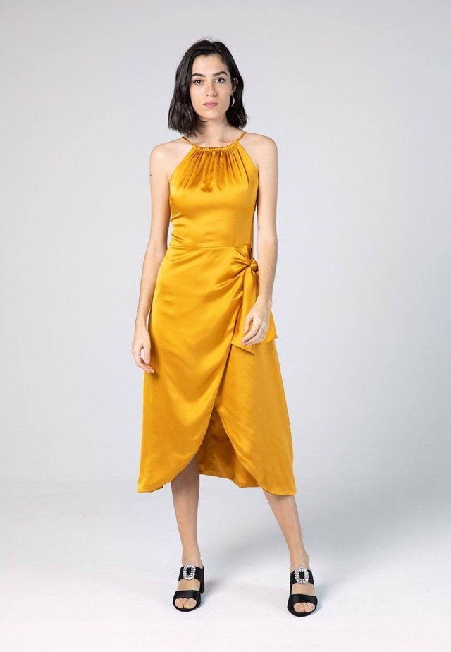 CAROLINE  - Cocktail dress / Party dress - ochre