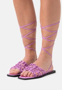 ASRA - SILAS - Sandals - orchid - 0