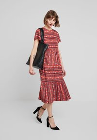 Louche - THEODEN FOLKSTRIPE - Day dress - red - 2