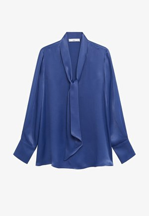 SATIN-A - Blusa - dark navy