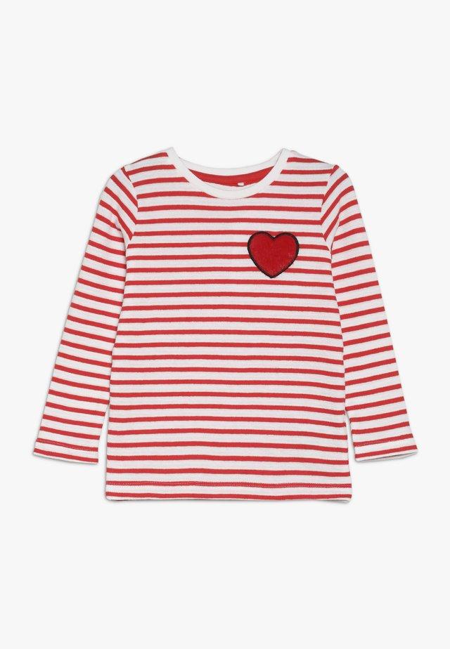 NMFLUMI  - Camiseta de manga larga - poppy red