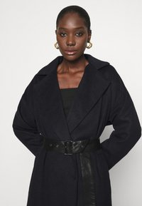 Who What Wear - BELTED COAT - Classic coat - navy - 3