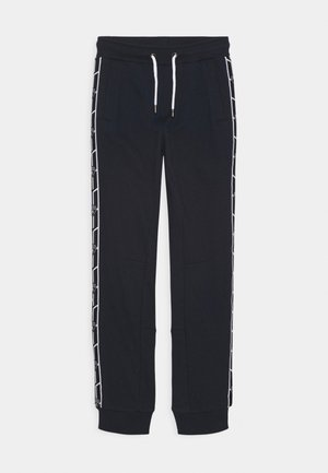 SHIELD TAPE PANTS - Tracksuit bottoms - blue hera
