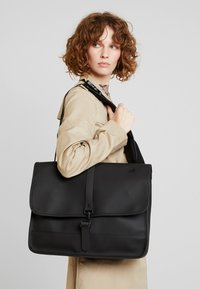 Rains - COMMUTER BAG - Ryggsäck - black - 5