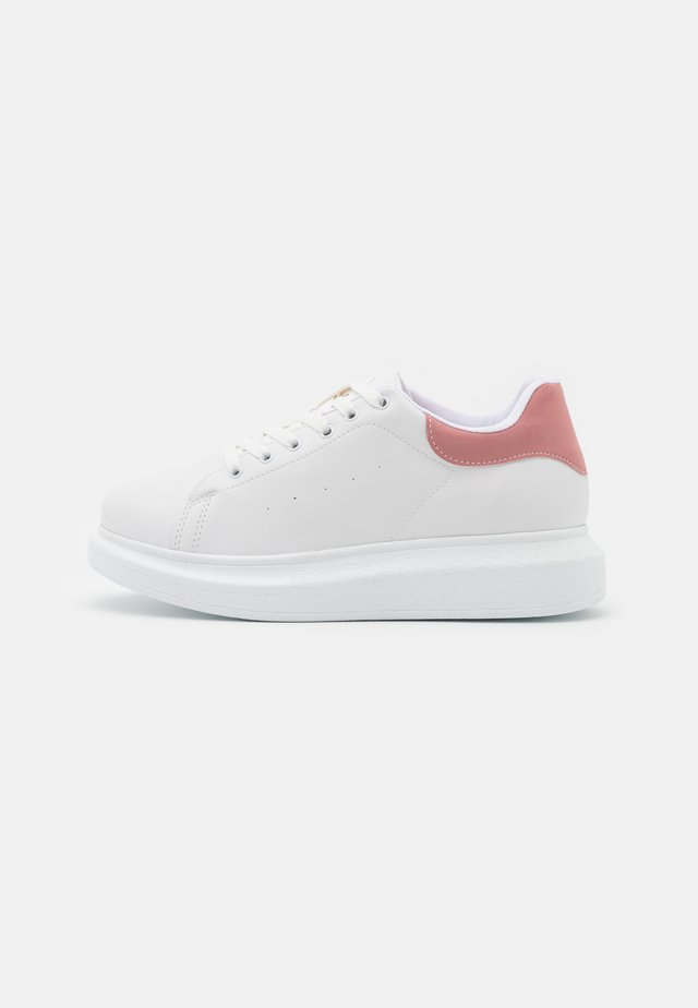 PERFECT - Sneakers basse - white/pink