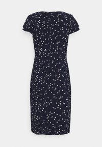 Lauren Ralph Lauren - PRINTED MATTE DRESS - Shift dress - lighthouse navy - 8