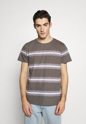THOMAS TEE - T-shirt print - black