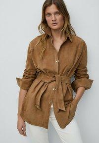 Massimo Dutti - Short coat - beige - 0
