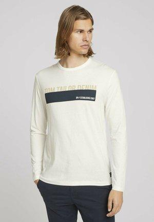 Maglietta a manica lunga - soft light beige