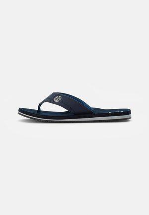 T-bar sandals - navy blazer