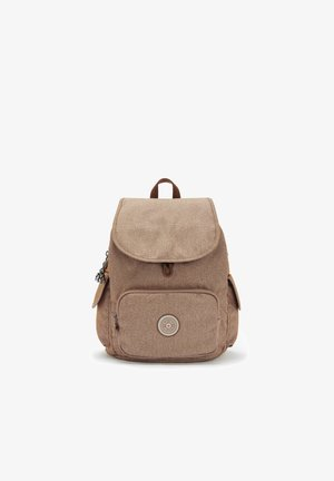 CITY PACK S - Sac à dos - dotted d beige