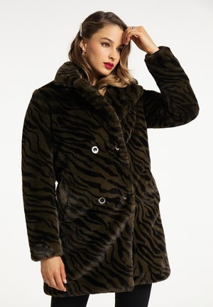 Short coat - zebra