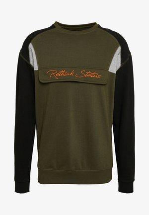 CREW NECK - Sweatshirt - army