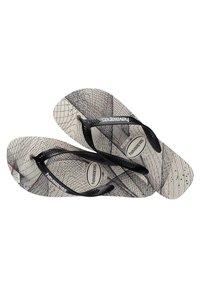 Havaianas - AERO GRAPHIC - Pool shoes - grey/black - 2