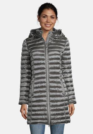 MIT STEHKRAGEN - Winter coat - grau
