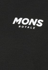 Mons Royale - REDWOOD ENDURO - T-Shirt print - black/grey marl - 2
