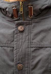 INDICODE JEANS - Winter coat - dark grey - 4