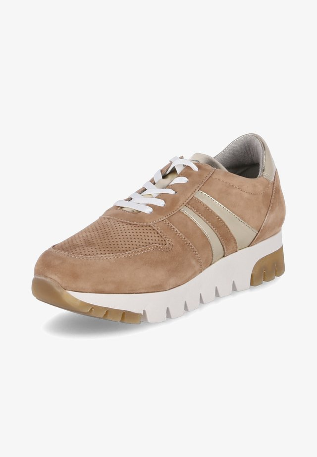 Sneakers laag - camel lt. gold