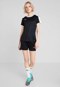 Puma - LIGA  - Sports shorts - black/white - 1