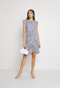 Nly by Nelly - RUCHED FLOUNCE DRESS - Juhlamekko - multi-coloured - 1