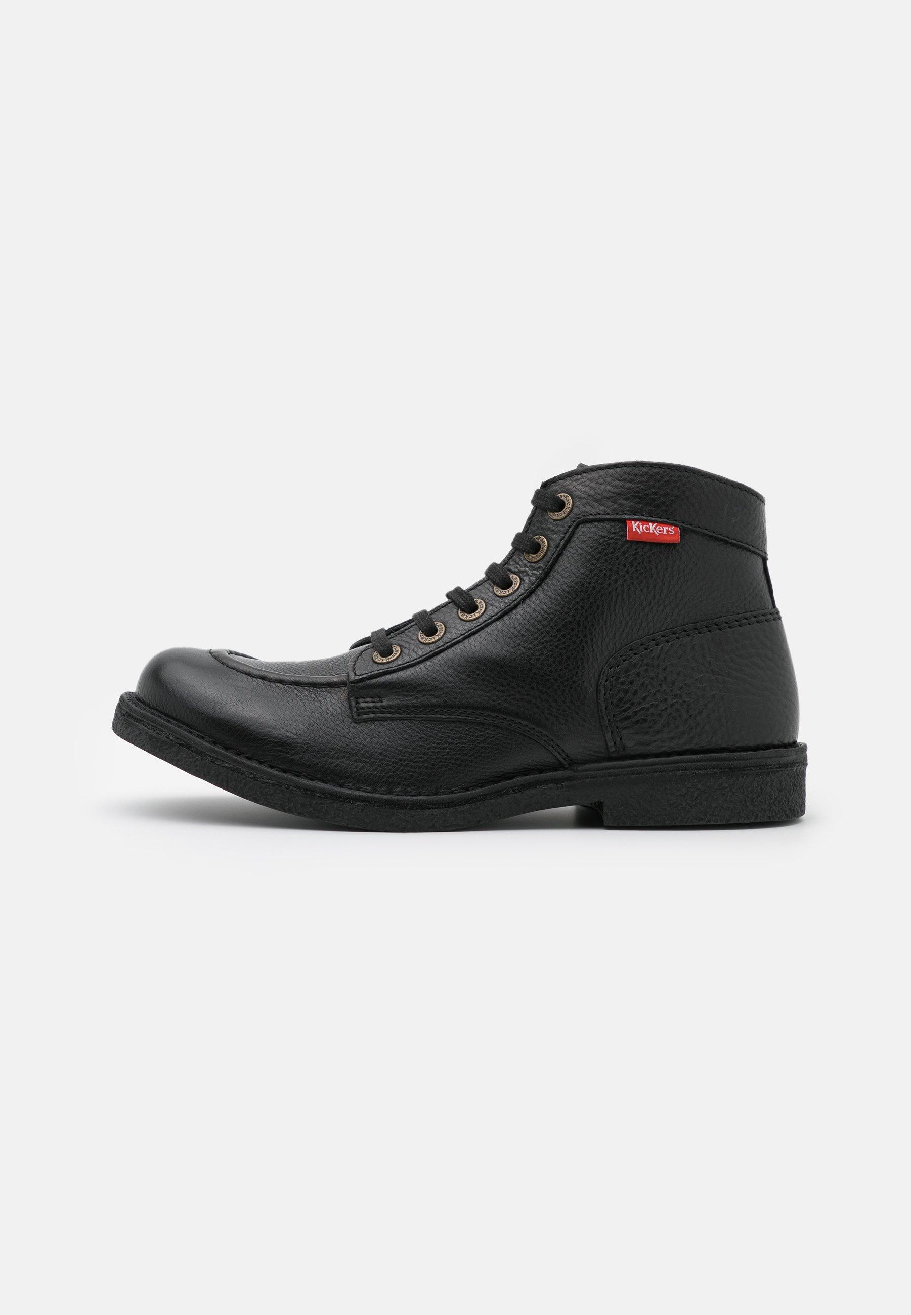 Men KICKSTONER - Lace-up ankle boots - noir