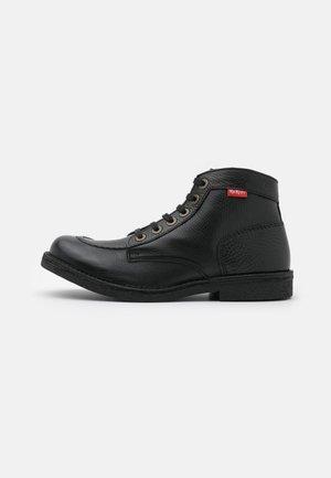 KICKSTONER - Lace-up ankle boots - noir