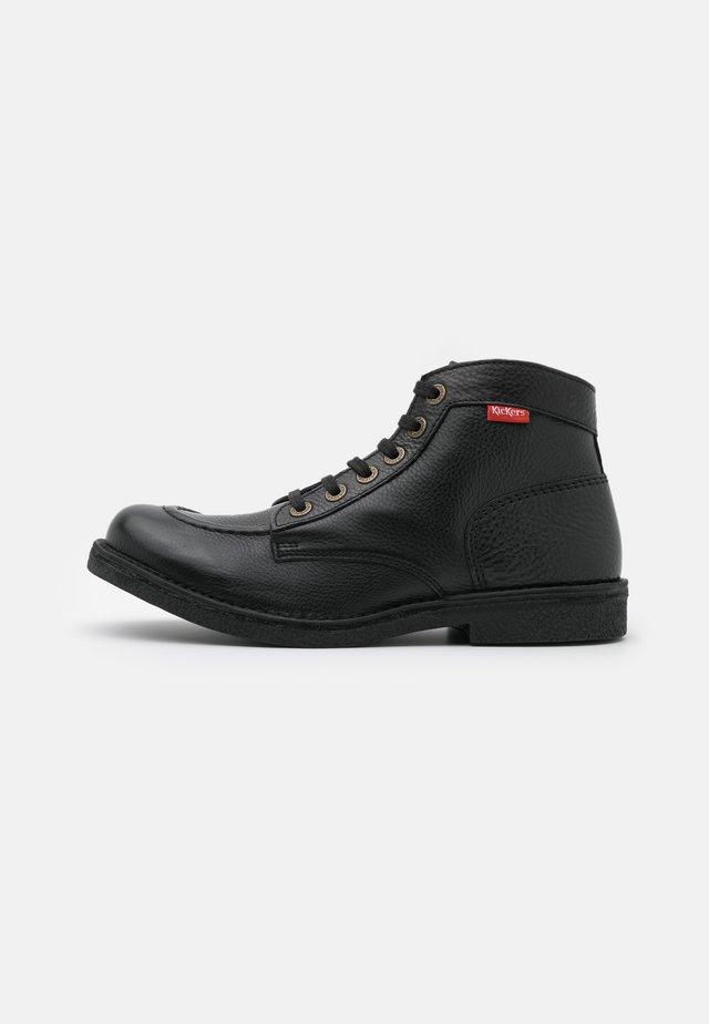 KICKSTONER - Veterboots - noir