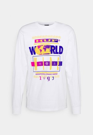 TOUR TEE - Long sleeved top - white