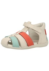 Kickers - Chaussures premiers pas - white/pink/blue - 3