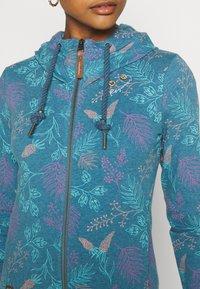 Ragwear - PAYA FLOWERS - Hettejakke - blue - 5