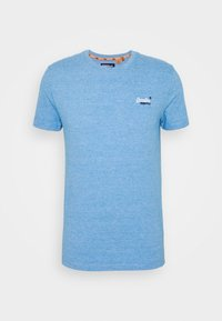 Superdry - VINTAGE CREW - Basic T-shirt - royal blue feeder - 0