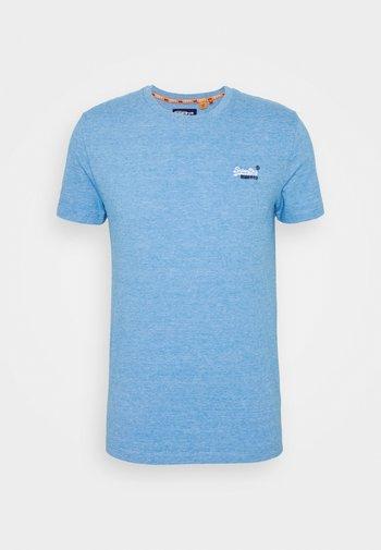 VINTAGE CREW - T-shirt - bas - royal blue feeder