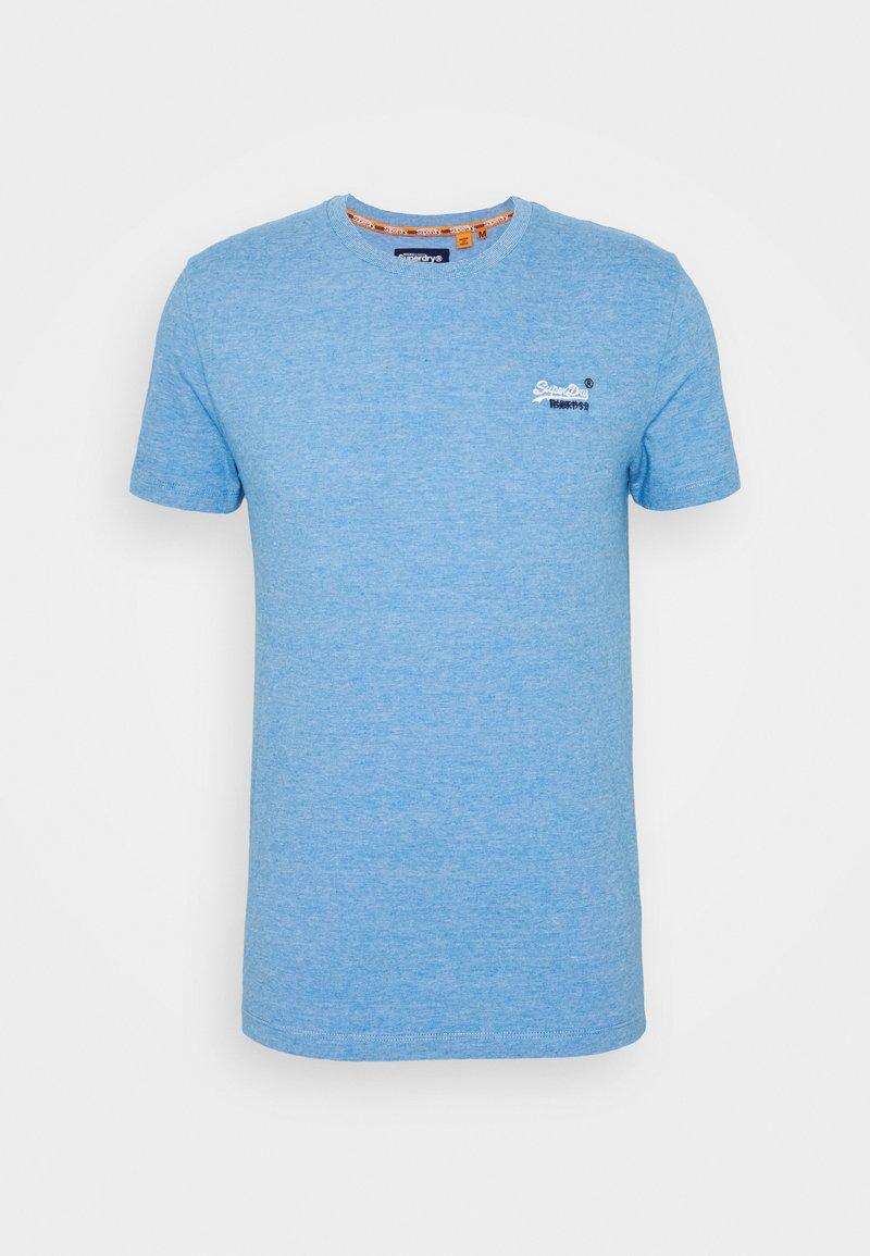 Superdry - VINTAGE CREW - Basic T-shirt - royal blue feeder