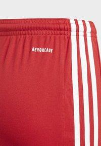 adidas Performance - SQUADRA 21 SHORTS - Pantalón corto de deporte - red - 3