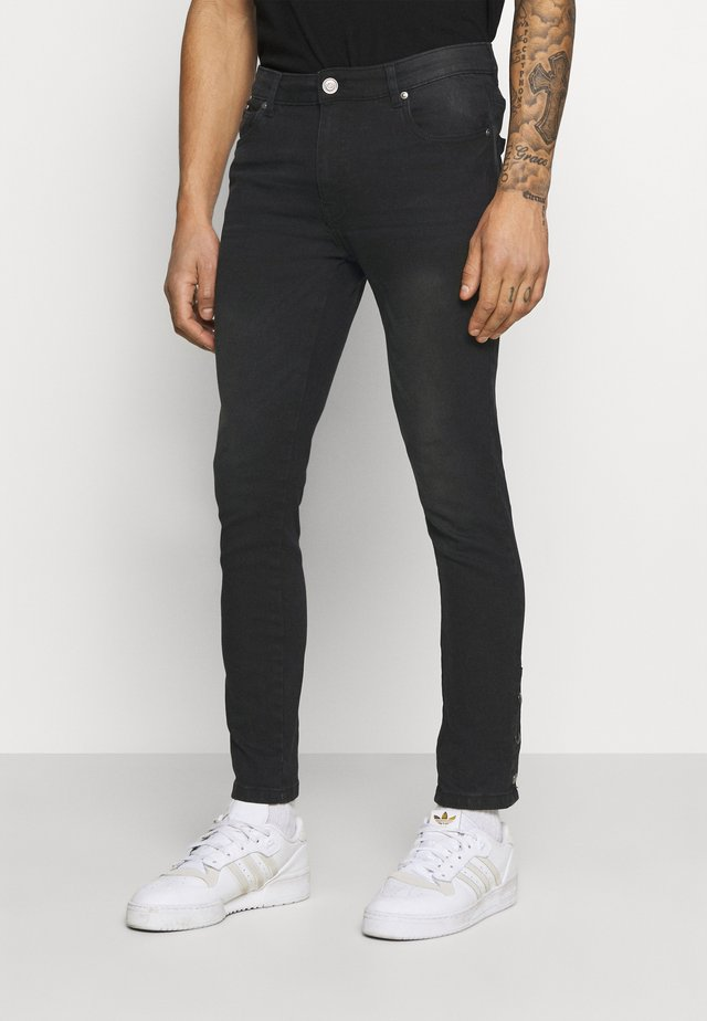 Jeans slim fit - charcoal