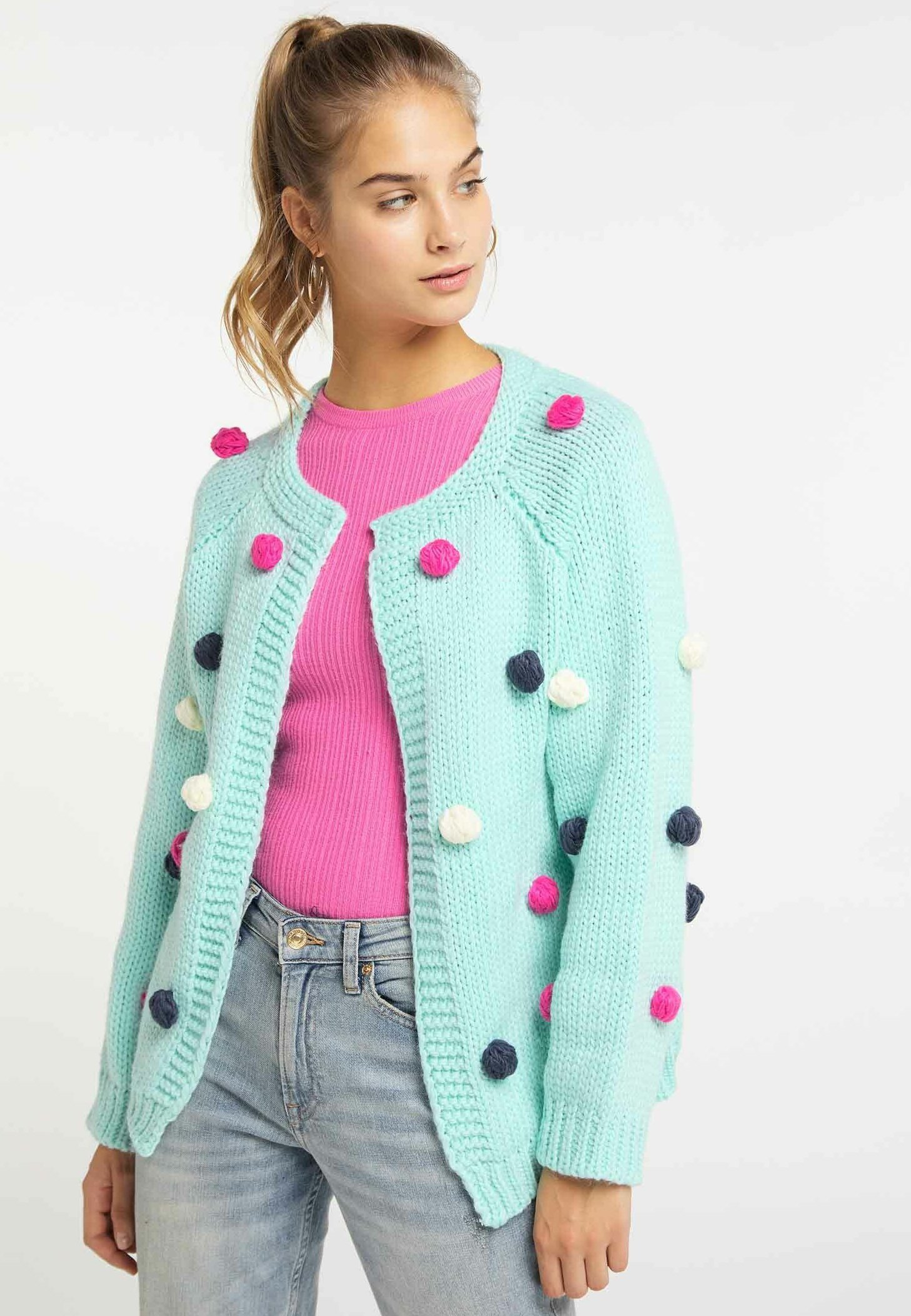 Fast Express Women's Clothing myMo Cardigan mint vDY2Ogarr