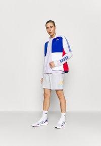 adidas Performance - Sports shorts - light grey heather - 1
