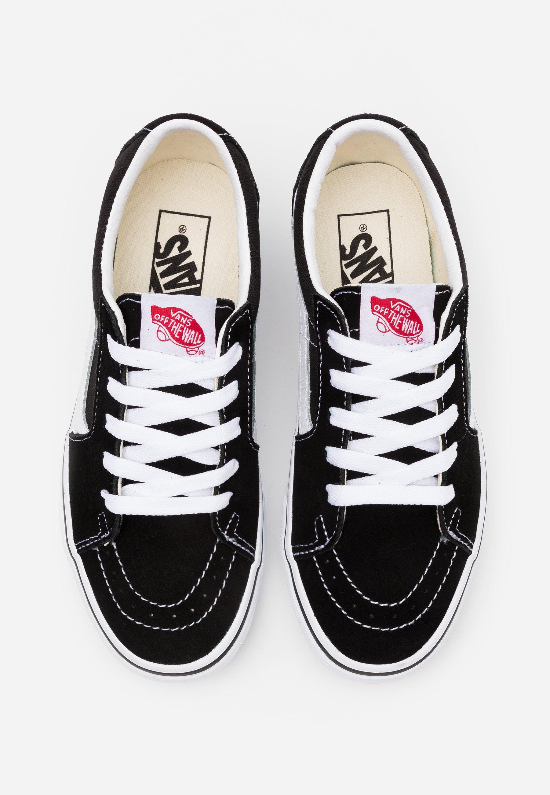 SK8-LOW UNISEX - Chaussures de skate - black/true white