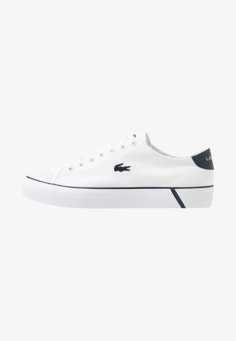 Lacoste - GRIPSHOT - Trainers - white/navy