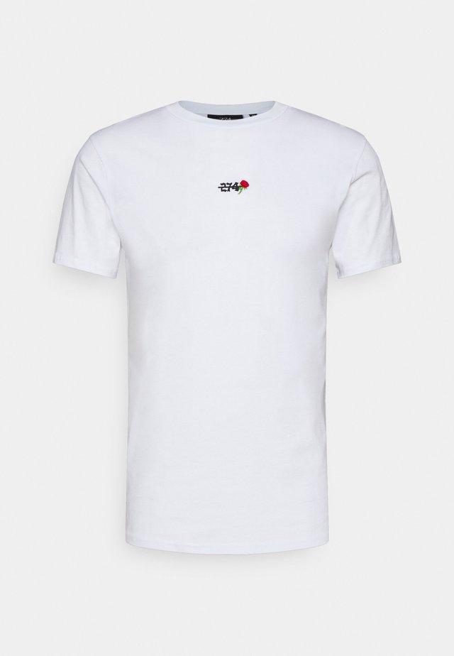 FLAME - T-shirt imprimé - white